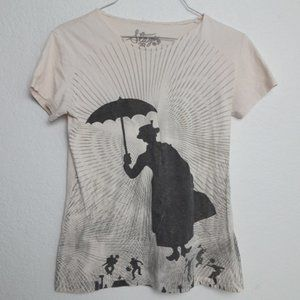 Disney Stage 28 Graphic Fitted Tee Mary Poppins